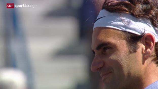 Video «Federer - Zuversicht trotz Final-Niederlage» abspielen