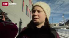 Link öffnet eine Lightbox. Video Greta Thunberg kämpft am WEF fürs Klima abspielen