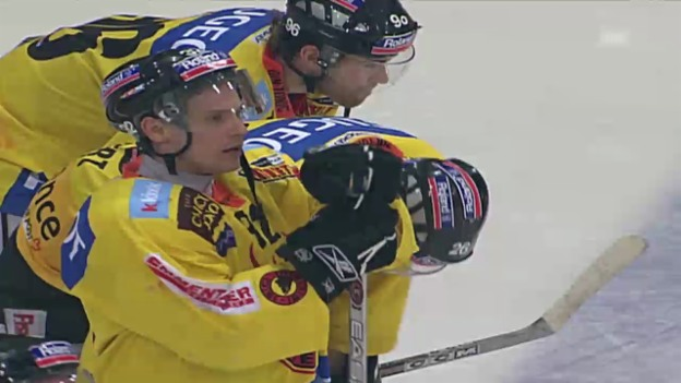 Video «Eishockey: 6. Viertelfinalspiel SC Bern - Kloten («sportaktuell» 18.03.2006)» abspielen
