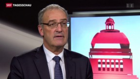 Video «Guy Parmelin: Interessen des Landes haben Vortritt» abspielen