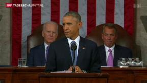 Video «Selbstbewusster Obama » abspielen