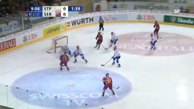 Genf verspielt 3:0-Führung - St. Petersburg im Final