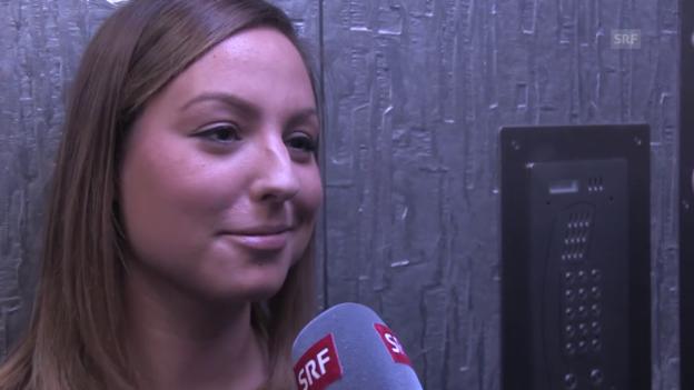Video «Pascale Salzmann: Mit Countrypop ins Halbfinale» abspielen