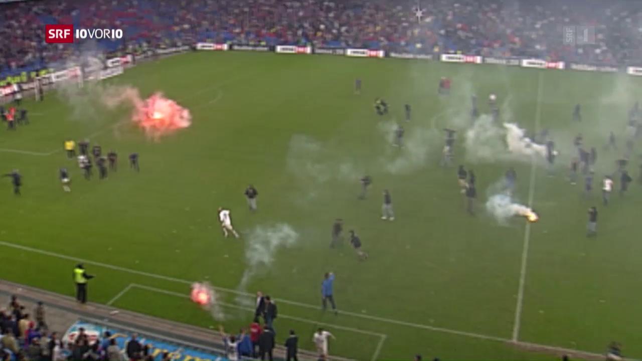«Schande von Basel» – der Fussballschrecken von 2006