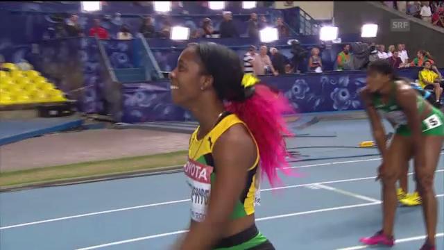 200 m Frauen: Fraser läuft zu Gold