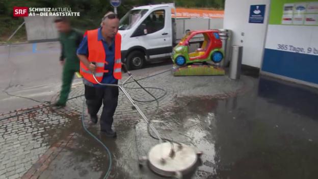 Video «Erster Arbeitstag im Hausdienst & Logistikzentrum Härkingen» abspielen