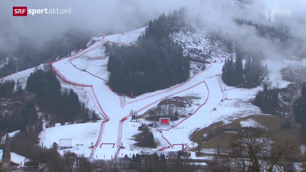 Ski: Prekäre Situation in Kitzbühel