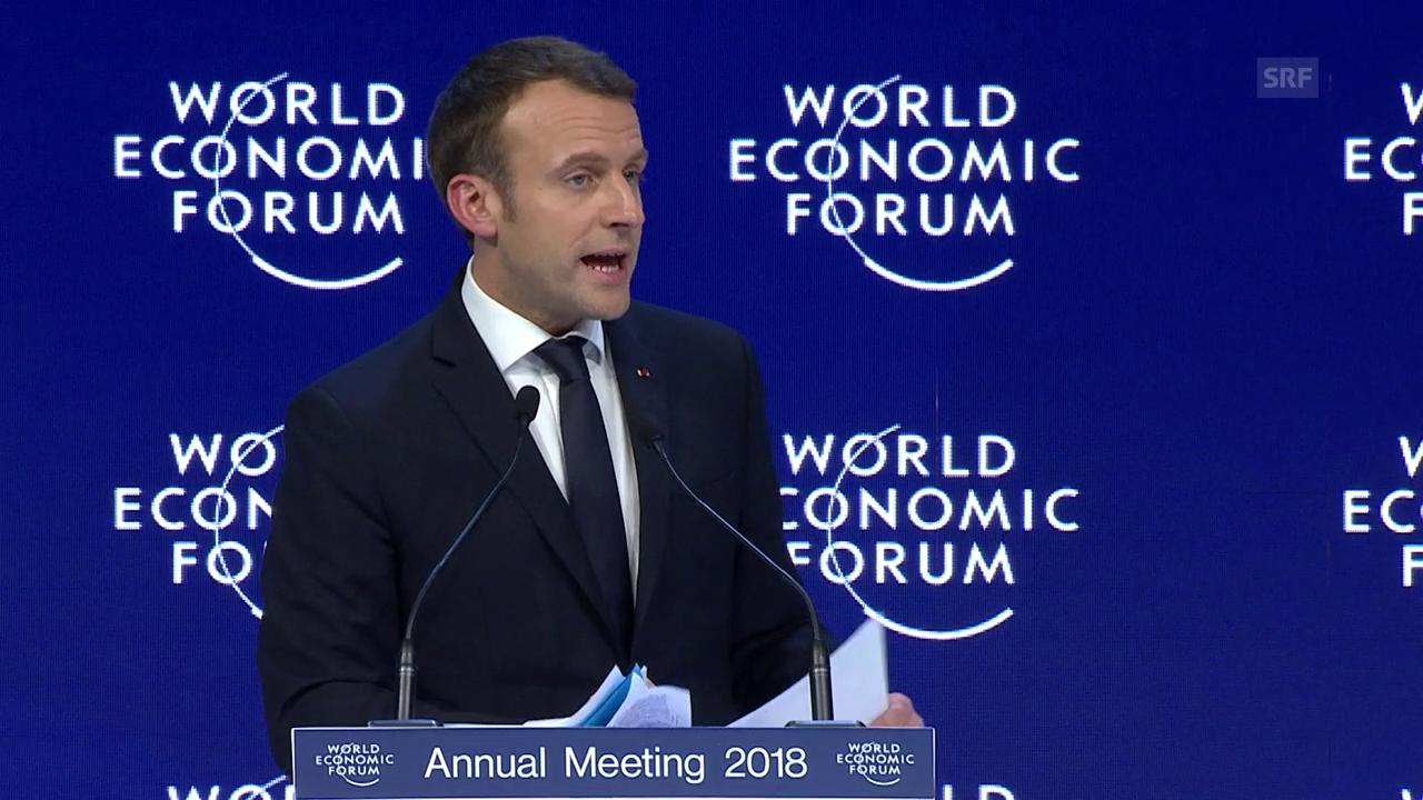 Macron fordert stärkeres Europa