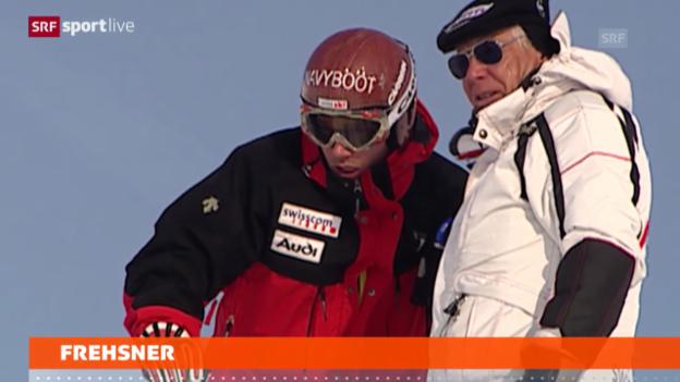 Video «Ski alpin: Karl Frehsner ausgezeichnet («sportlive»)» abspielen