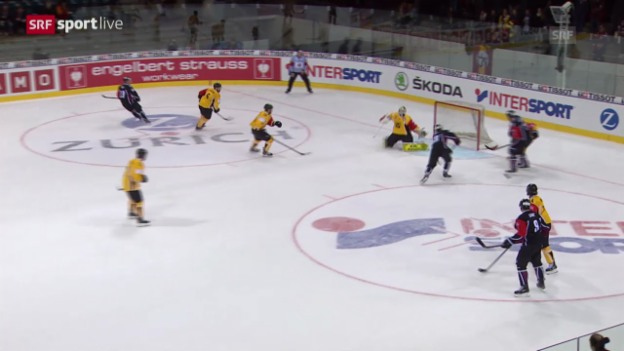 Video «Eishockey: CHL, Genf-Lappeenranta» abspielen