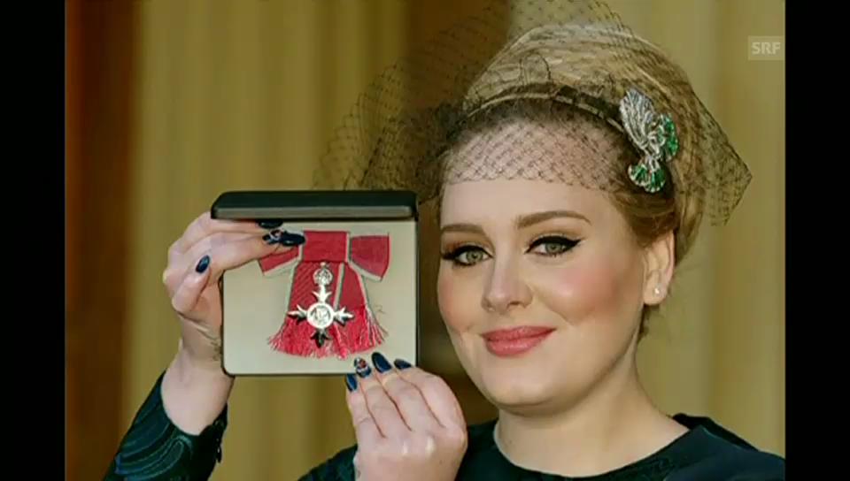 Ein Ritterorden für Adele