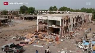 Video «Gefechte im Jemen trotz Waffenruhe» abspielen