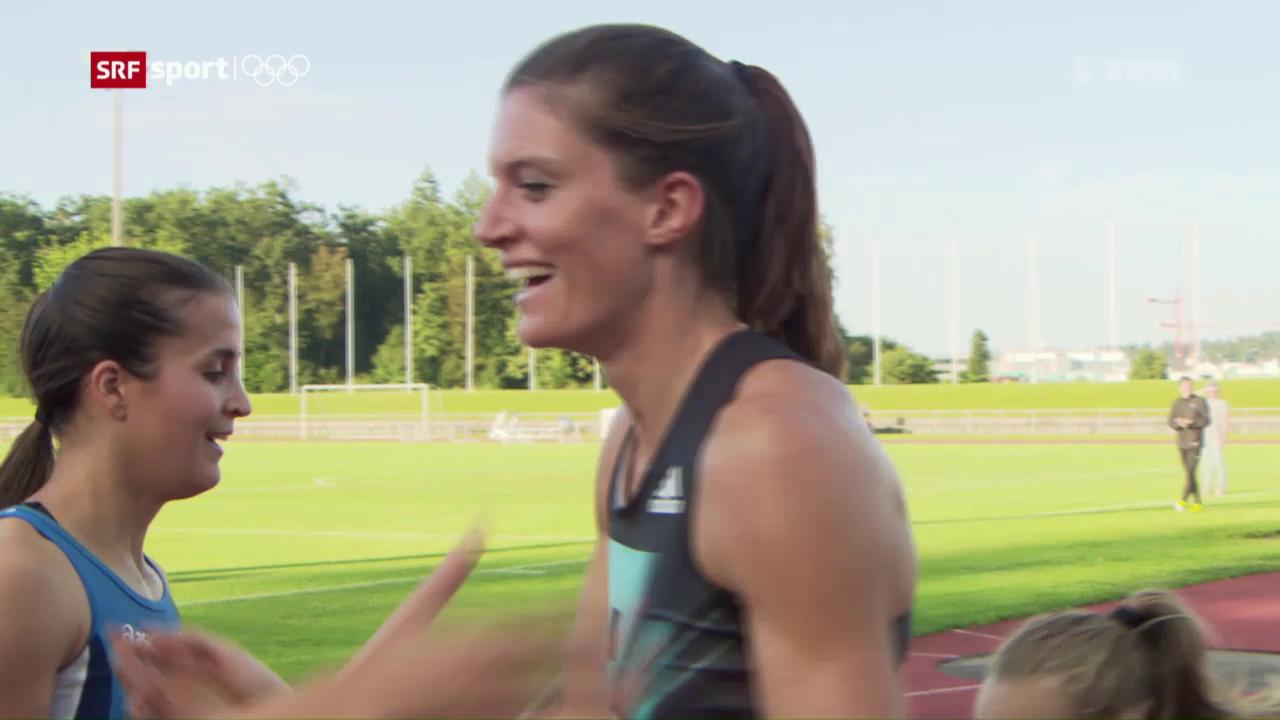 Lea Sprunger glänzt beim Sommer-Meeting in Langenthal