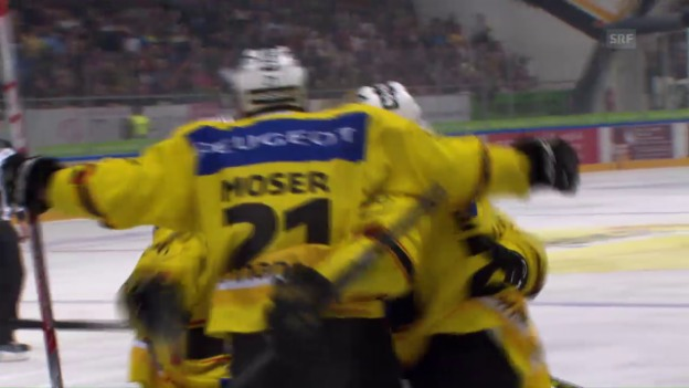 Video «Lugano - Bern: Die Live-Highlights» abspielen