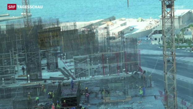 """Video «Fussball-WM: """"Ausbeutung"""" in Katar» abspielen"""