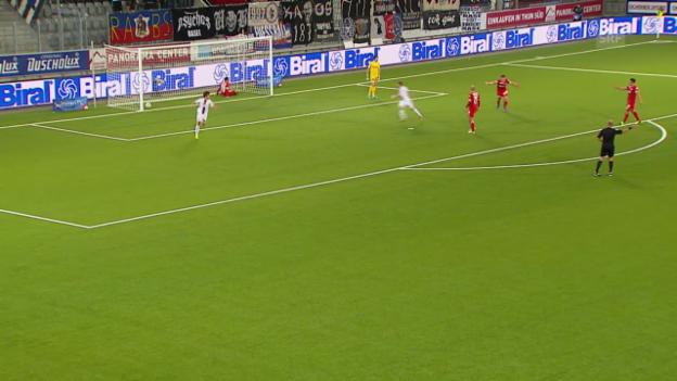 Video «SL: Thun - Basel» abspielen
