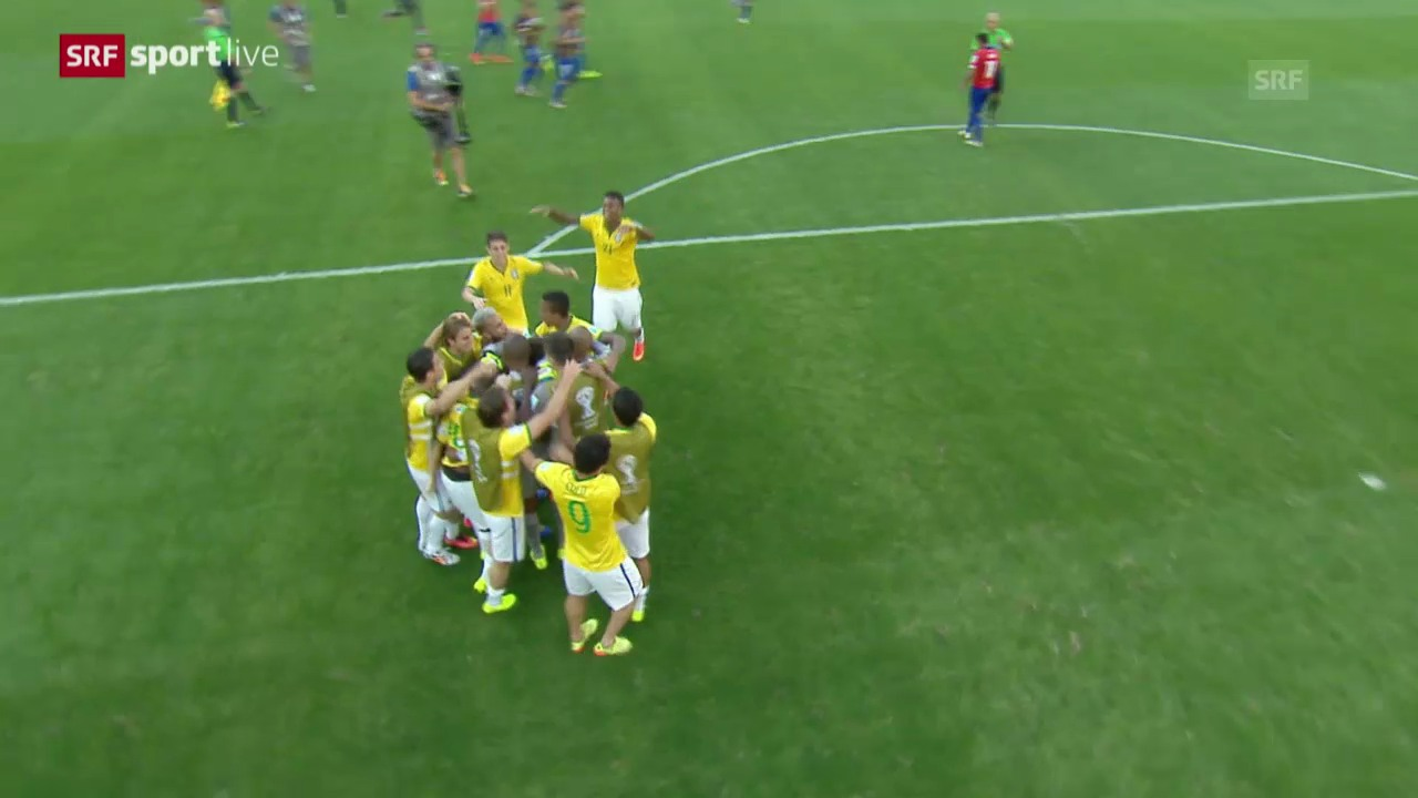FIFA WM 2014: Brasilien - Chile: Die Live-Highlights