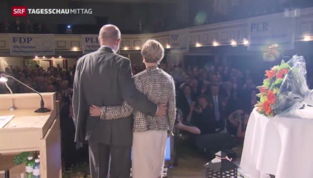 Video «Pelli beendet Nationalratskarriere mit Niederlage» abspielen