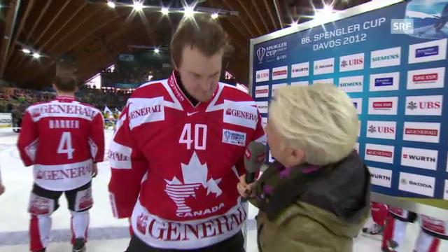 Eishockey: Interview Devan Dubnyk