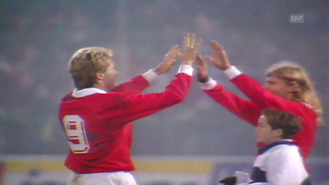 Fu: Schweiz-Estland, 1993