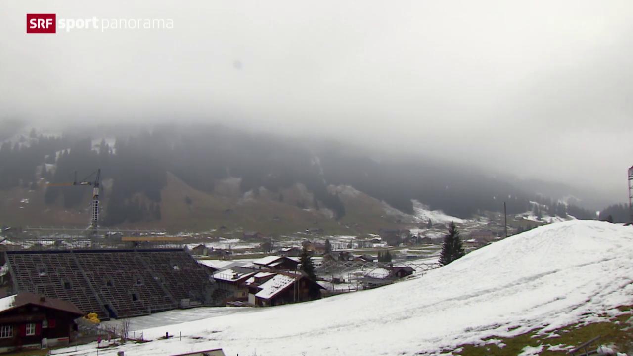 Ski alpin: Die aktuelle Schneesituation in Adelboden und Wengen