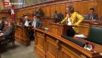 Video «Signal gegen Wiederwahl von Widmer-Schlumpf» abspielen