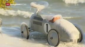 Video «Sibirische Kälte erreicht die Schweiz» abspielen