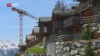 Video «Illegale Baubewilligungen für Chalets» abspielen