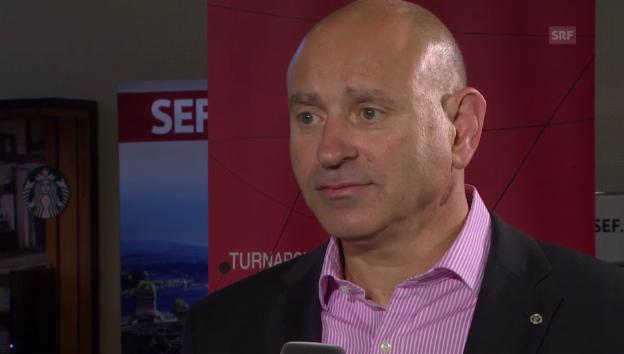 Video «Michael Agoras (Chef Adecco Schweiz) im Interview» abspielen