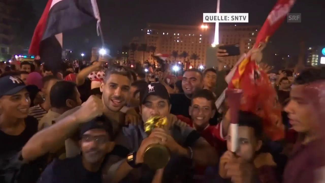 Erste WM-Quali seit 1990: Ägyptens Fans im Freudentaumel