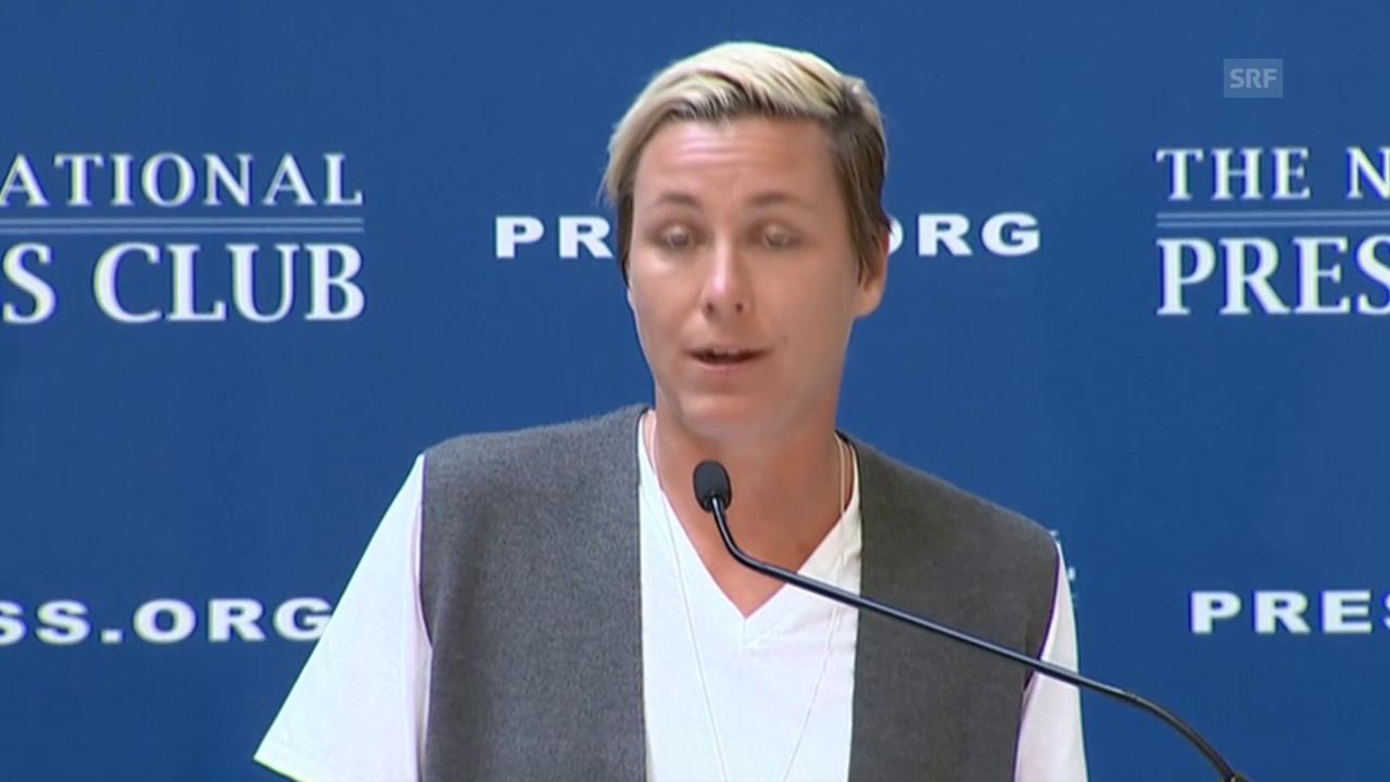 Fussball: Abby Wambach tritt zurück (sntv)
