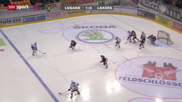 Video «NLA: Lugano - Lakers» abspielen