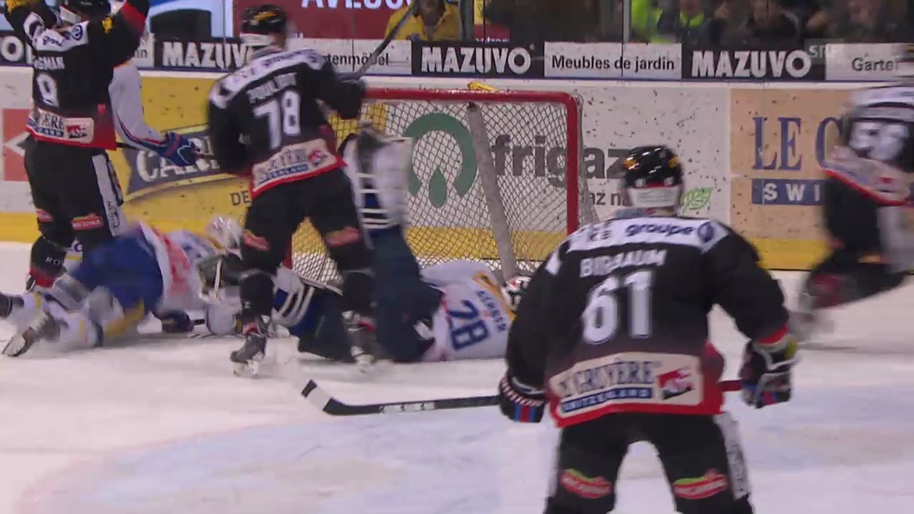 Eishockey: 1. Playoff-Halbfinal Freiburg - Kloten, Highlights