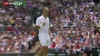 Video «Wawrinka folgt Federer in den Viertelfinal» abspielen