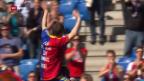 Video «Fussball: Super League, Alex Freis Abschied» abspielen