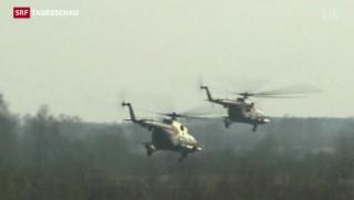Video «Vermittlermission der OSZE in der Ukraine startet» abspielen