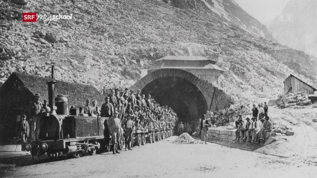 Video «Gotthard – Das Jahrhundertbauwerk» abspielen