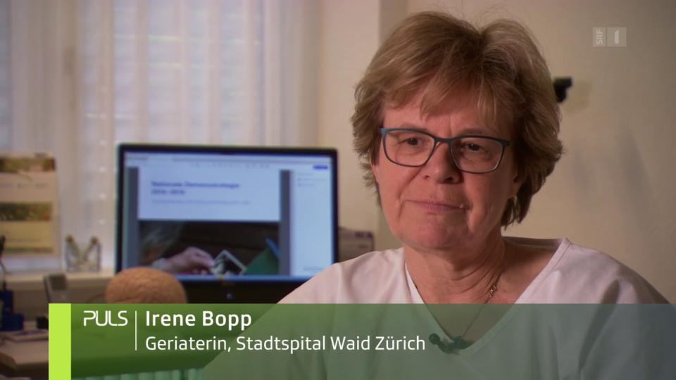 Geriaterin Irene Bopp zeigt sich persönlich sehr enttäuscht: «Es geht immer um die Finanzierung. Sehr viele Projekte können nicht umgesetzt werden wegen den Finanzen.»