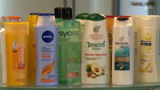Video «Repair-Shampoos im Test: Nicht alle glänzen» abspielen
