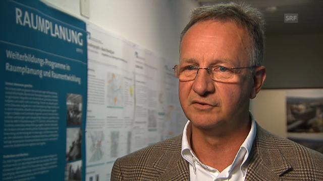 Bernd Scholl, Raumentwicklung ETH, über Industriebrachen