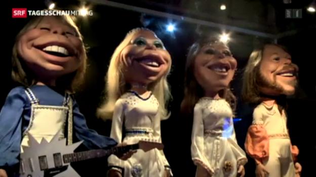 Video «Abba-Museum wird eröffnet» abspielen