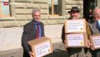 Video «Initiativen-Flut überrollt die Schweiz» abspielen