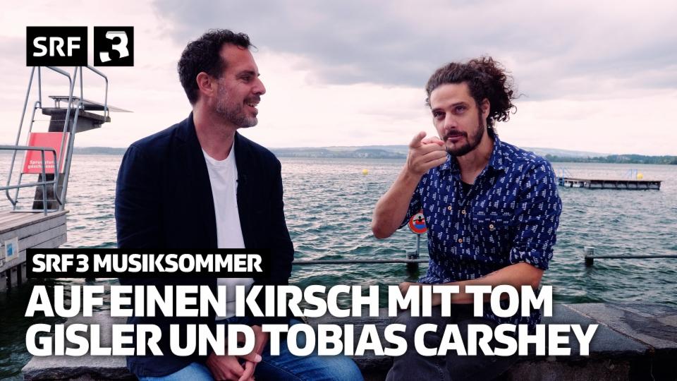 Auf einen Kirsch mit Tom Gisler und Tobias Carshey