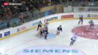 Video «Spengler-Cup : Fribourg gegen Tschechien» abspielen