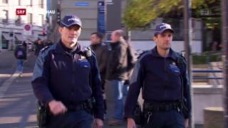 Video «Gewalt gegen Polizisten » abspielen