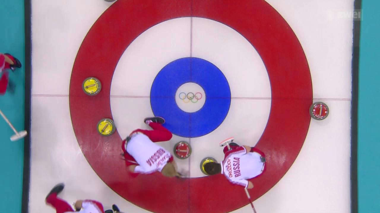 Curling: Die unnötige Niederlage der Schweizer Curling-Männer