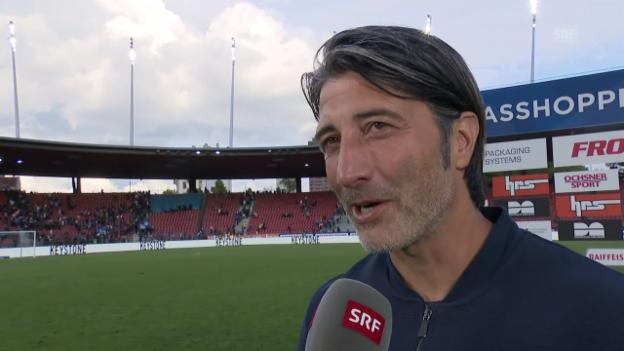 Video «Das sagt Murat Yakin zu seinem Einstand als GC-Trainer» abspielen