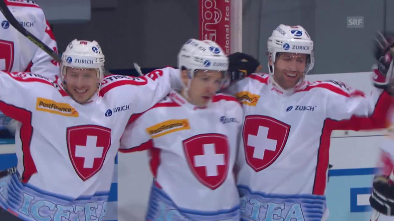 Eishockey: Arosa Challenge, die Tore in der regulären Spielzeit