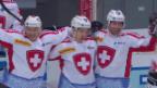 Video «Eishockey: Arosa Challenge, die Tore in der regulären Spielzeit» abspielen