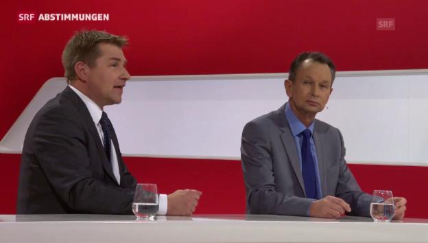 Video «Parteipräsidenten nach dem Ja zur Einwanderungs-Initiative» abspielen